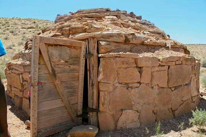 Navajo Hogan House