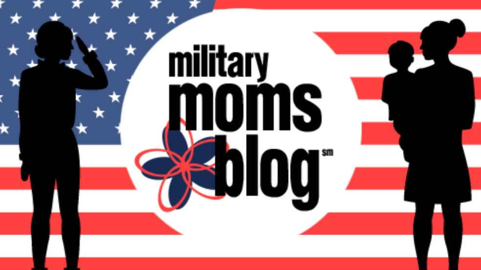 military moms blog logo